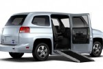 First factory-built wheelchair accessible vehicle runs on CNG