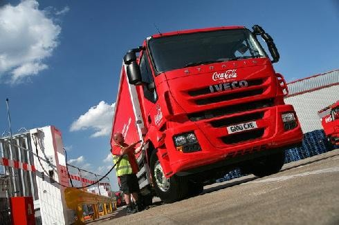 Coca-Cola introduces biogas to power its delivery fleet