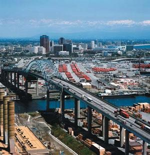 First LNG fueling station in L.A. and Long Beach ports