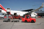 Hamburg Airport uses biogas buses and tractors