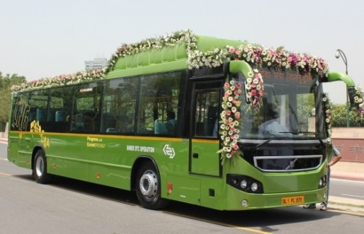 Volvo Buses India begins trials of its first natural gas bus