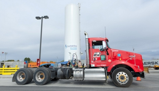 In Quebec, natural gas is fast becoming the fuel of choice for large transportation, long-haul fleets, thanks in part to provincial incentives for vehicle refits and a growing network of
