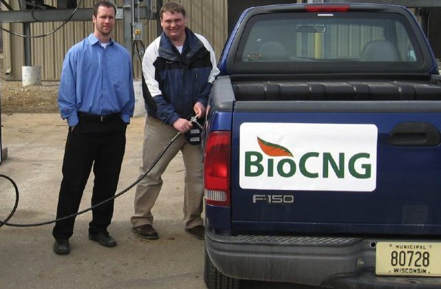 The first vehicle was BioCNG-filled at the Rodefeld landfill in Wisconsin on March 11, 2011