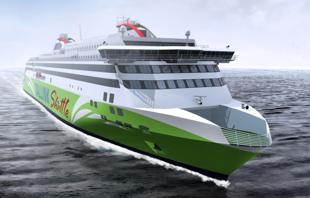 Tallink LNG-powered fast ferry