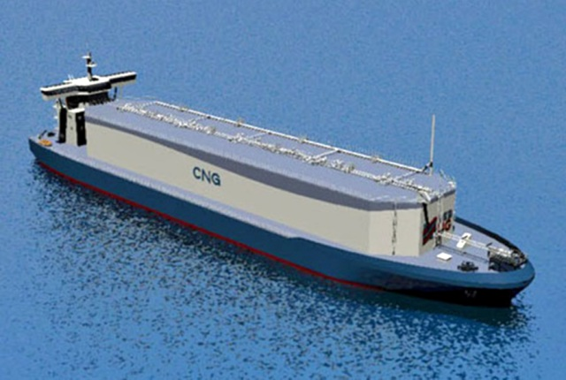 Cng Compressed Natural Gas Ship