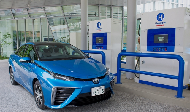 Chugoku areas first hydrogen refueling station opens in Japan