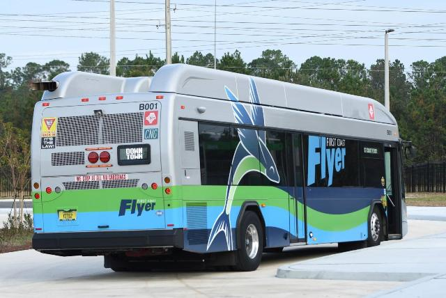 BRT corridor featuring CNG buses expands in northeastern