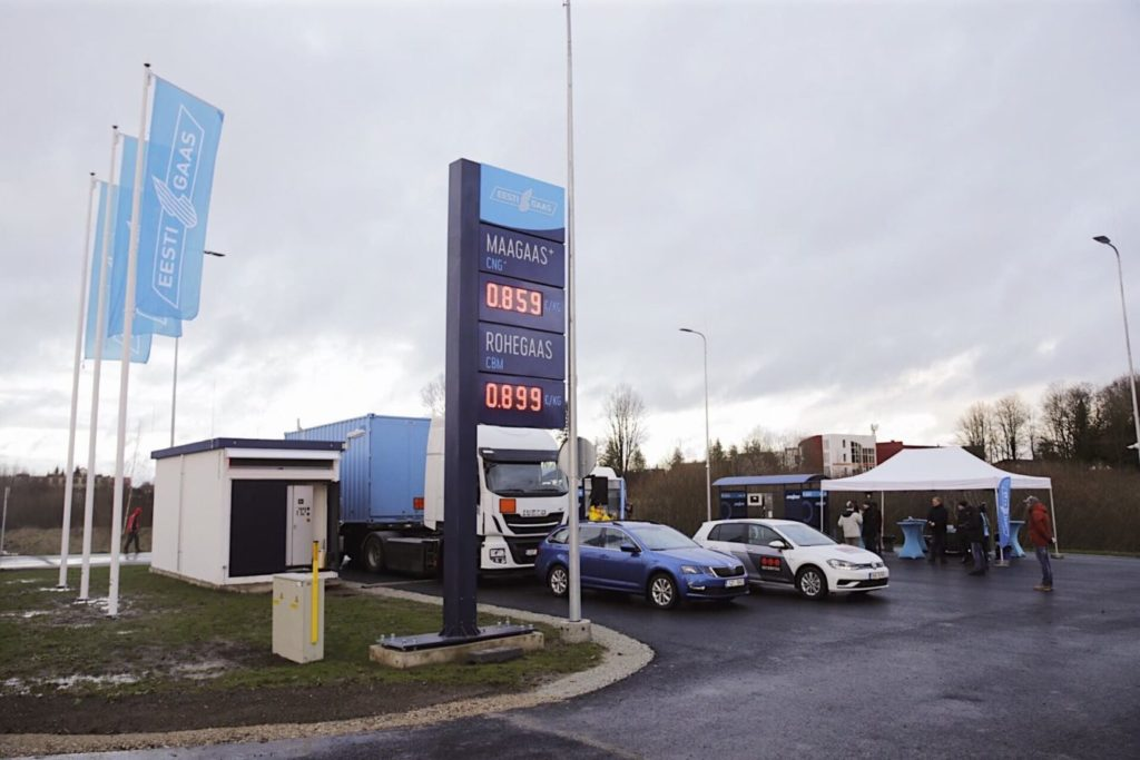 Natural Gas Stations >> More Natural Gas Refueling Stations Opening In Estonia Ngv Journal
