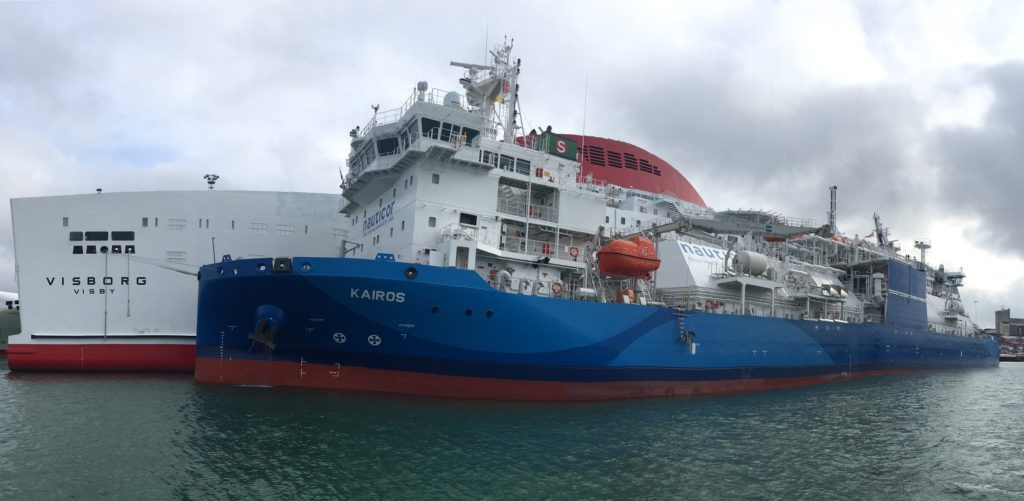 First LNG ship-to-ship bunkering completed in Swedish east coast