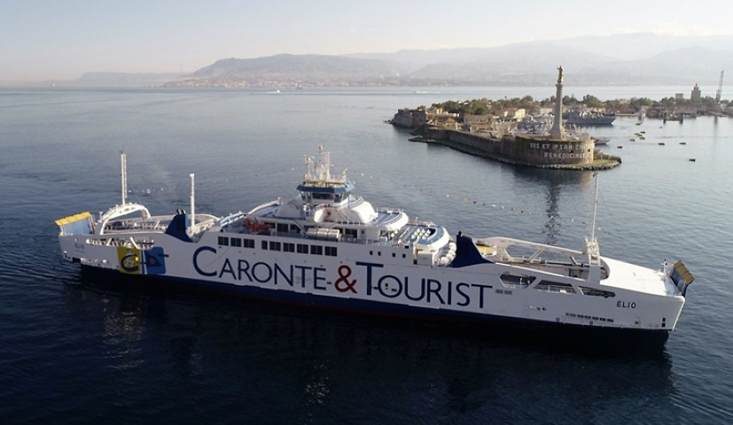 First RoPax ferry fueled by LNG enters service in the Mediterranean
